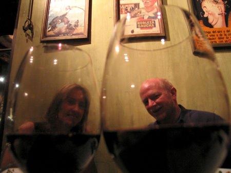 Angie Allan Wineglasses