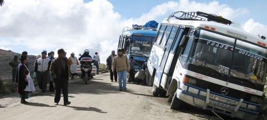 Bus Wreck Uyuni