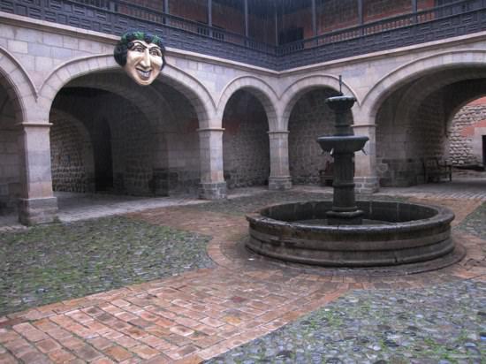 Casa Moneda Courtyard-1