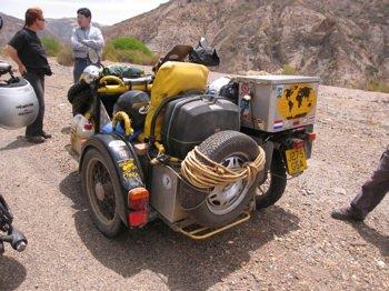 Freeride Sidecar Bolivia