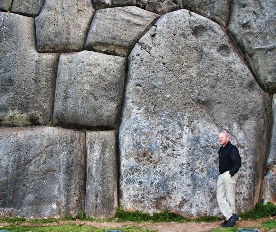 Inca Stonework Above Cusco