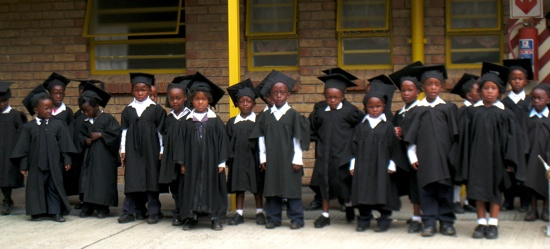 Kids Graduating