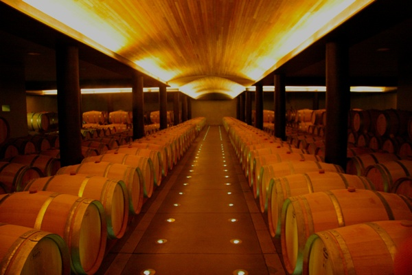 Laposolle Barrel Room