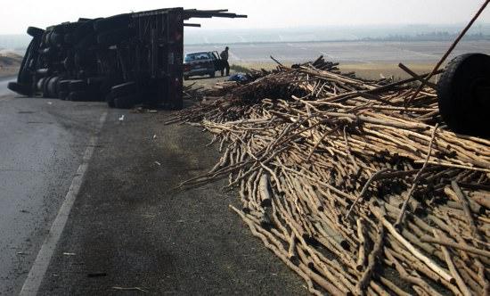 Truck Crash Peru