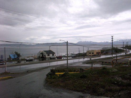 Ushaia Rain Leaving