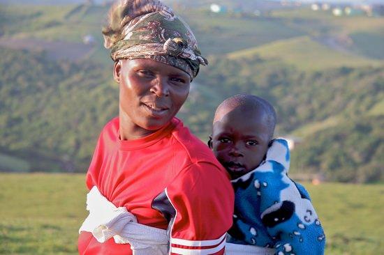 Xhosa Womanwbaby