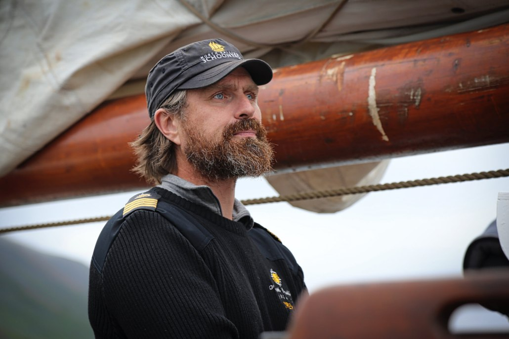 Heir Hardarsoii, owner and co-founder of North Sailing in Husavik, Iceland