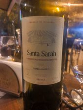 2012 Santa Sarah Mavrud & Cabernet Sauvignon Blend