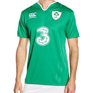Canterbury Men's Ireland Home Pro Short Sleeve Rugby Jersey
