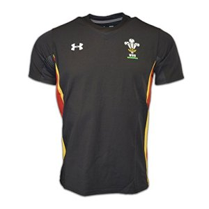 2015-2016 Wales Rugby WRU Training Jersey (Black)