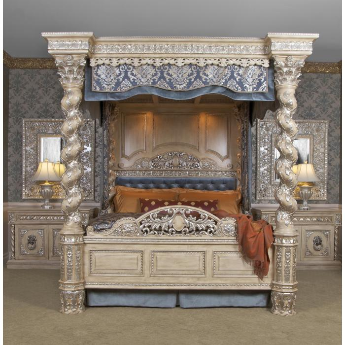 The Renaissance Canopy Bed Cal King Worlds Best