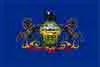 Pennsylvania state flag courtesy of Wikipedia