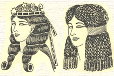 Искусство прически в Древнем Египте и Древней Греции
