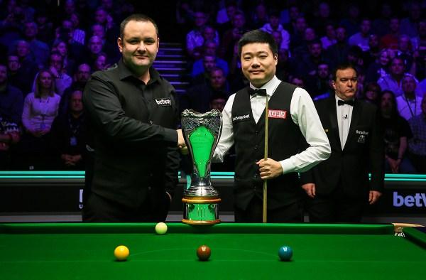 Дин Джуньху — победитель Чемпионата Британии 2019!