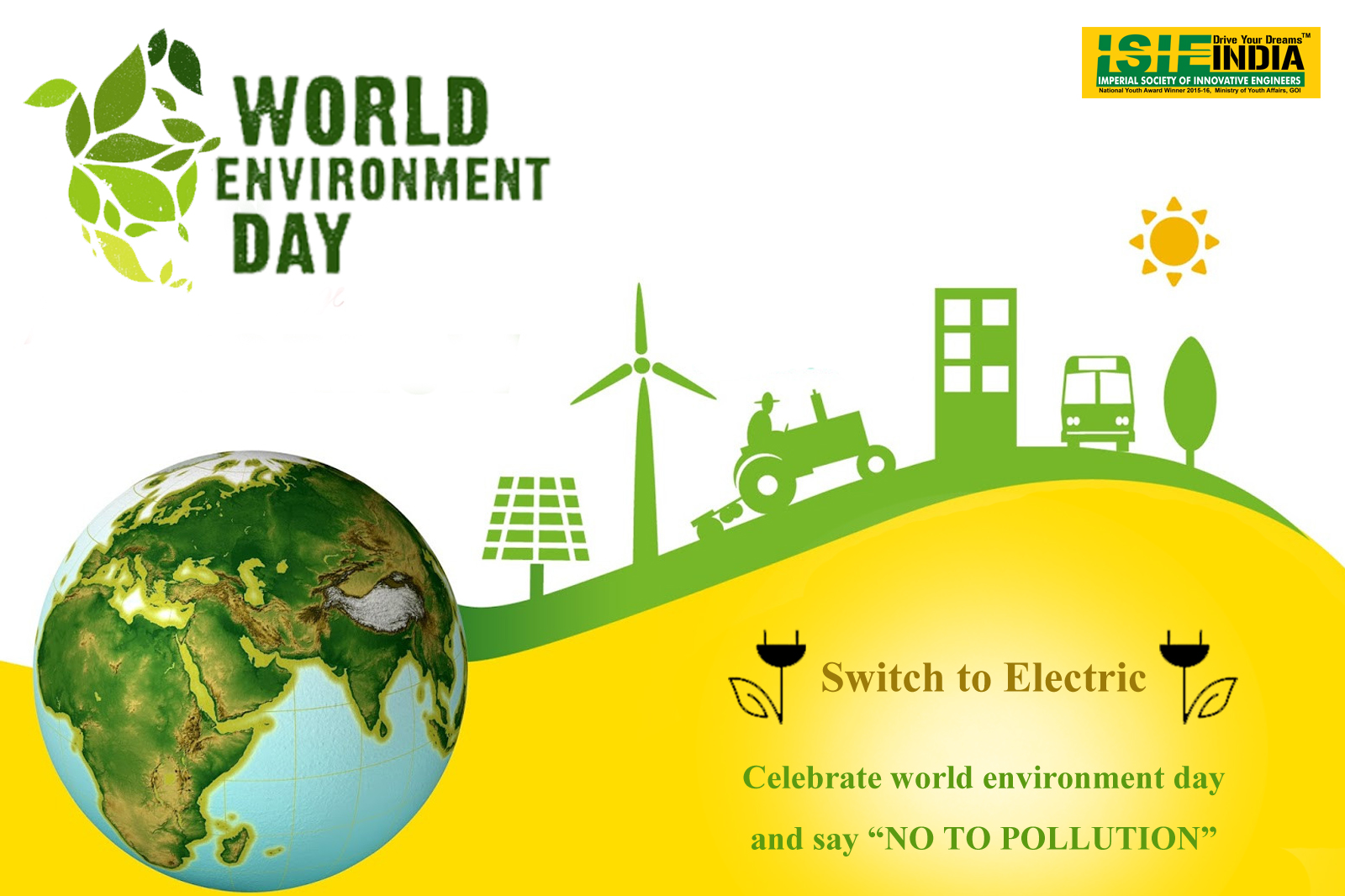 Isie Esvc Wishes Happy World Environment Day