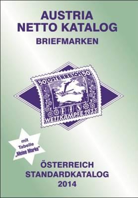 Austria Netto Katalog Briefmarken Österreich Standard 2014