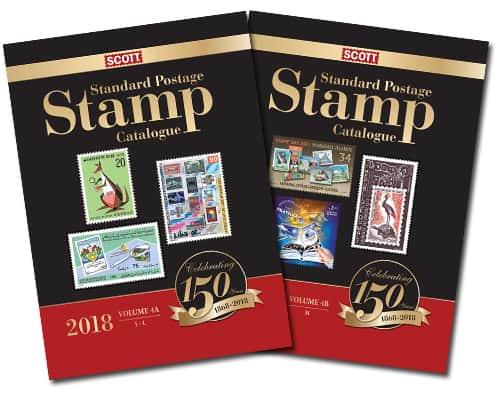 2018 Scott Standard Postage Stamp Catalogue – Volume 4 (J-M)