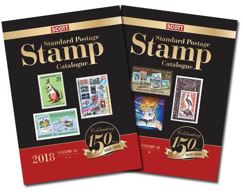 2018 Scott Standard Postage Stamp Catalogue – Volume 4 (J-M)