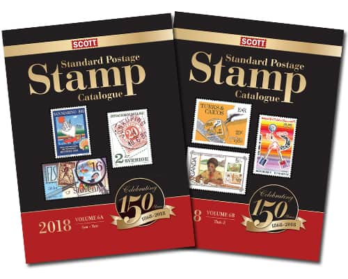 2018 Scott Standard Postage Stamp Catalogue – Volume 6 (San-Z)