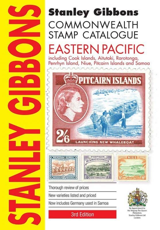 Stanley Gibbons Commonwealth Stamp Catalogue: Eastern Pacific – 3rd Edition