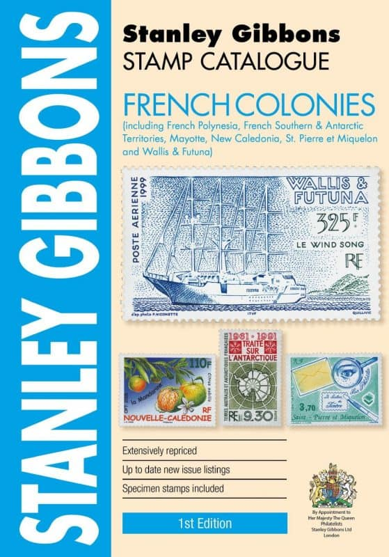 Stanley Gibbons French Colonies Stamp Catalogue – 1st Edition