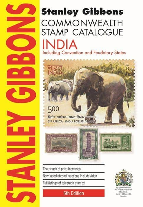 Stanley Gibbons Commonwealth Stamp Catalogue: India – 5th Edition