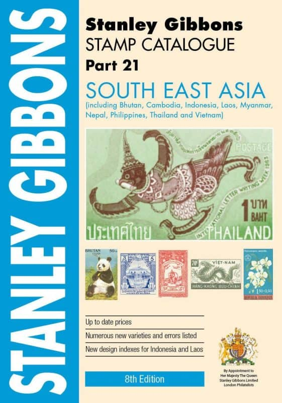 Stanley Gibbons South East Asia Stamp Catalogue – 5th Edition