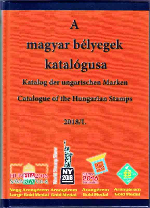 Catalogue of the Hungarian Stamps 2018/I + Souvenir Sheet