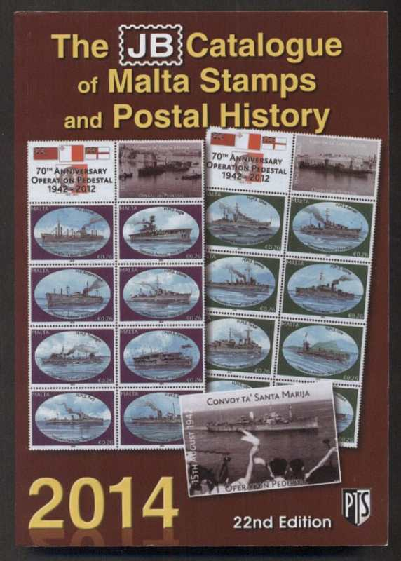 Stamp catalogues world stamp catalogues the jb catalogue of malta stamps and postal history 2014 fandeluxe Image collections