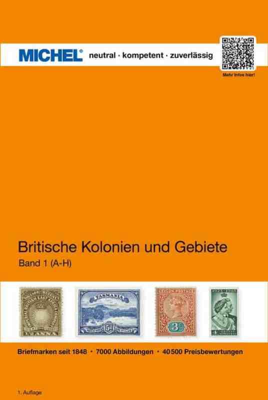 Michel Britische Kolonien und Gebiete, Band 1: A-H