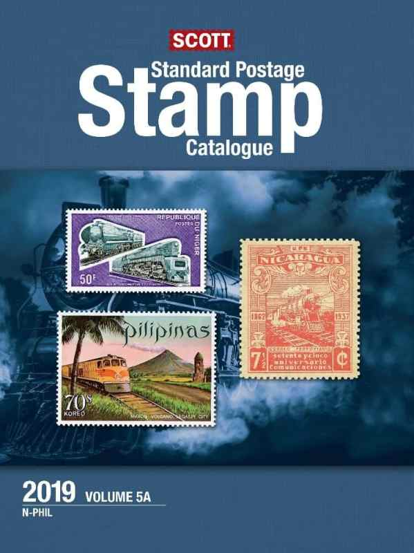2019 Scott Standard Postage Stamp Catalogue – Vol. 5 (N-Sam)
