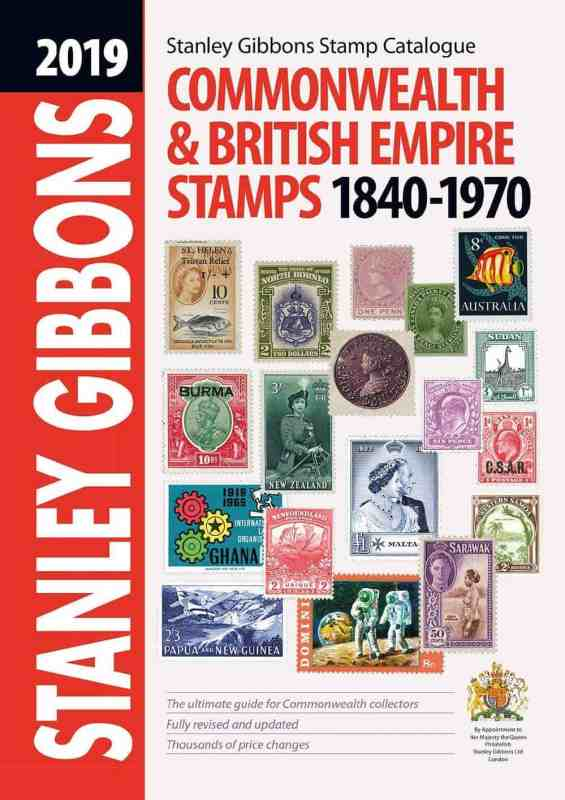 2019 Commonwealth & British Empire Stamp Catalogue 1840-1970