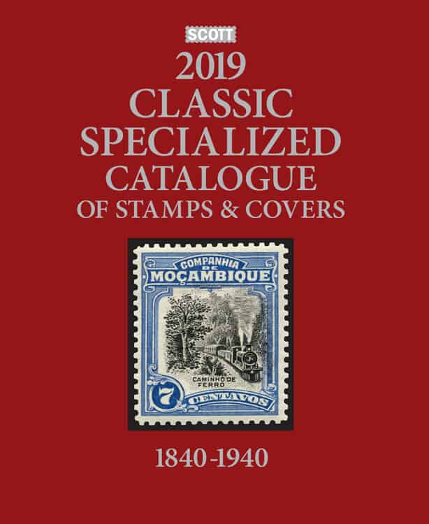 2019 Scott Classic Specialized Catalogue Of Stamps And Covers 1840-1940