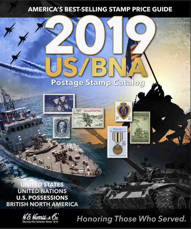 2019 US/BNA Postage Stamp Catalog