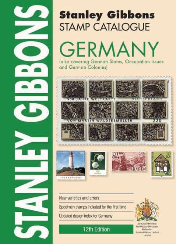 Stanley Gibbons Germany Stamp Catalogue – 12th Edition