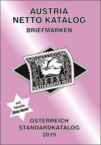 Austria Netto Katalog Briefmarken Österreich Standard 2019