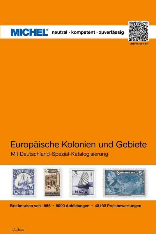 Michel Europaïsche Kolonien und Gebiete