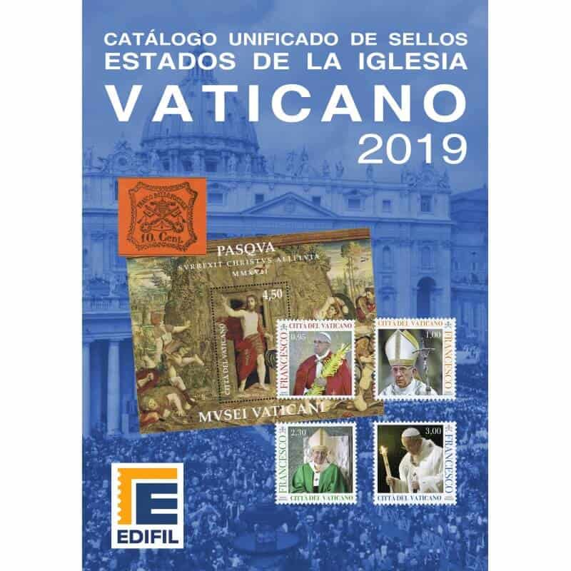 Edifil Unified Stamp Catalogue of the Vatican 2019