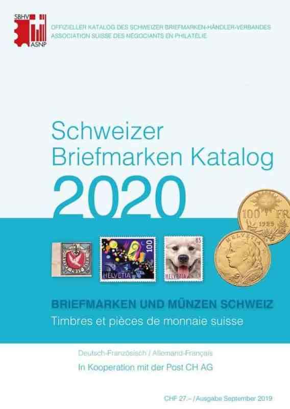 SBK – Swiss Stamp Catalogue 2020