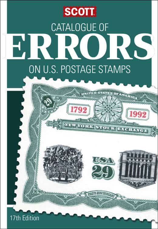 Scott Catalogue of Errors on US Postage Stamps, 17th Edition