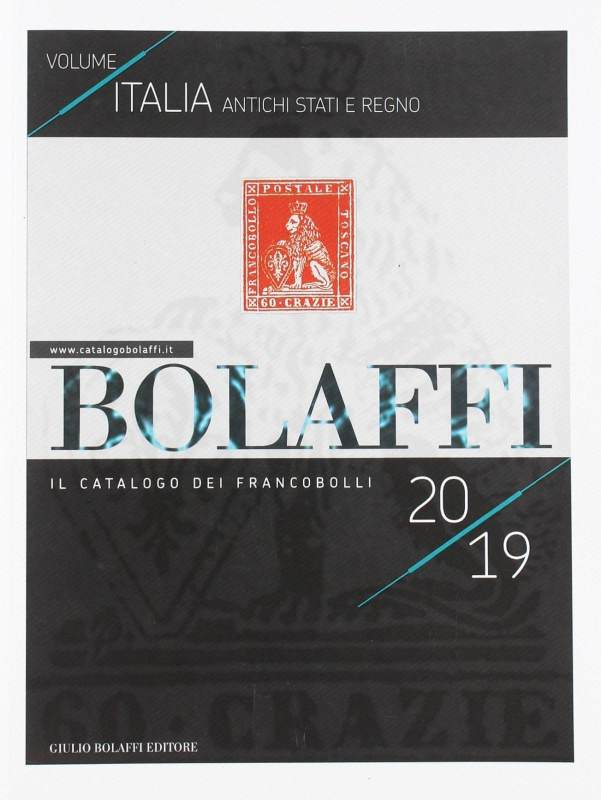 Bolaffi Catalog, Stamps Italy, Ancient States and Kingdom – 2019