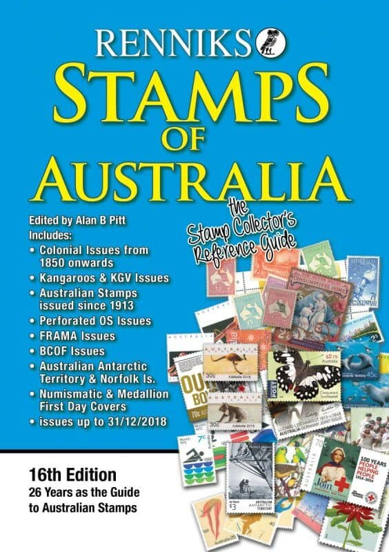Renniks Stamps of Australia – 16th edition