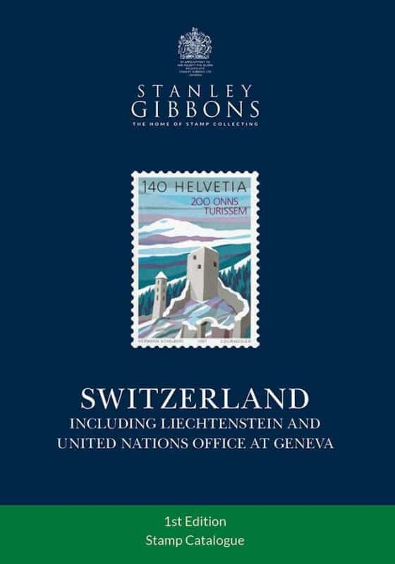 Stanley Gibbons Switzerland Stamp Catalogue – 1st Edition