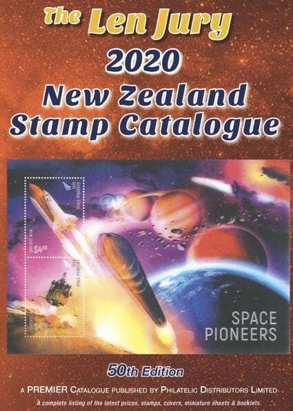 The Len Jury 2020 New Zealand Stamp Catalogue