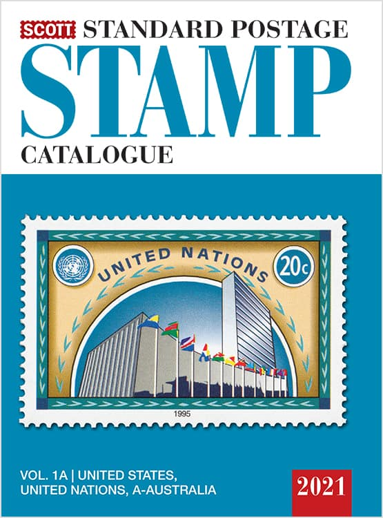 2021 Scott Standard Postage Stamp Catalogue – Volume 1 (US & A-B)
