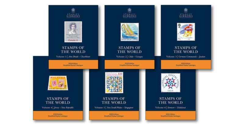 Stanley Gibbons 2020 Stamps Of The World