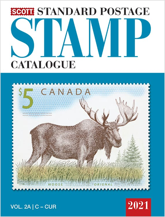 2021 Scott Standard Catalogue Volume 2 (Countries C-F)