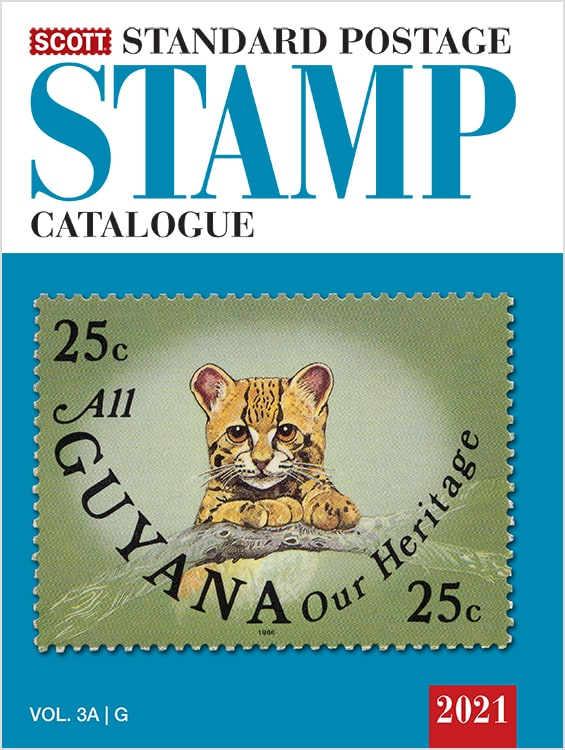 2021 Scott Standard Postage Stamp Catalogue – Volume 3 (G-I)