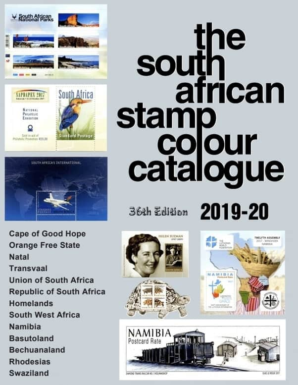The South African Stamp Colour Catalogue 2019-20