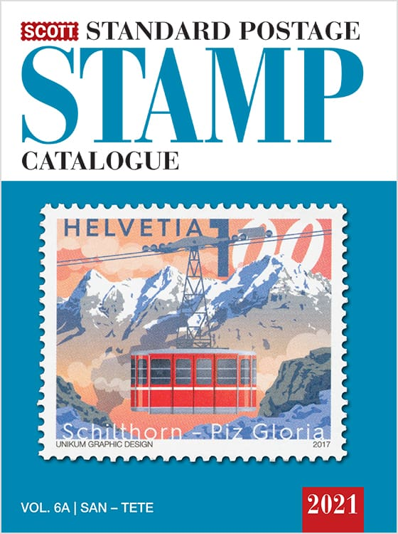 2021 Scott Standard Postage Stamp Catalogue – Volume 6 (San-Z)